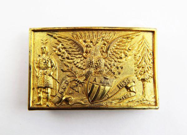 Massachusetts Militia Waist Belt Plate for the Ancient & Honorable Artillery Regiment