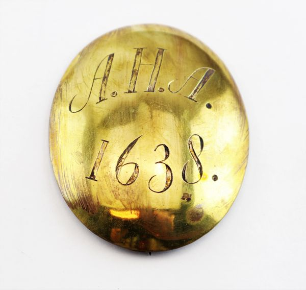 Massachusetts Militia Breast Belt Plate for the Ancient & Honorable Artillery Regimen