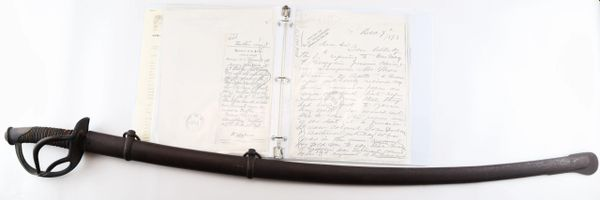 Sword of Major Christopher Louis Grafflin, 3rd Regiment Potomac Home Brigade