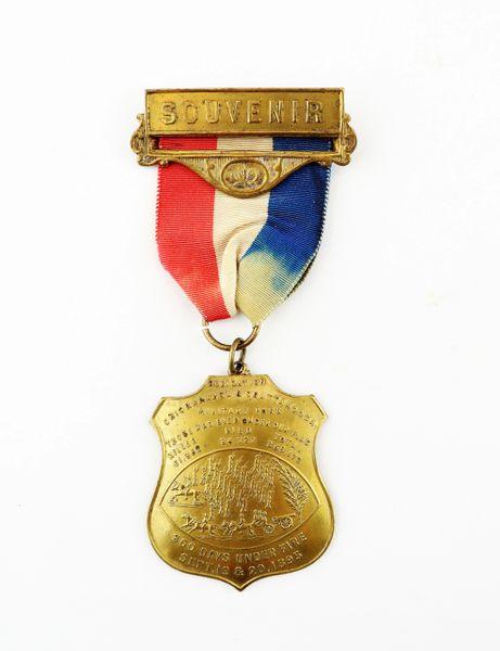 Dedication of Chickamauga / Chattanooga Badge