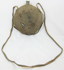 Civil War Union Bullseye Canteen