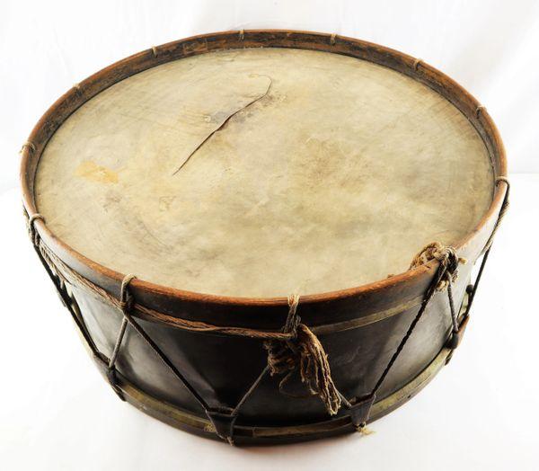 Civil War Era Bass Drum
