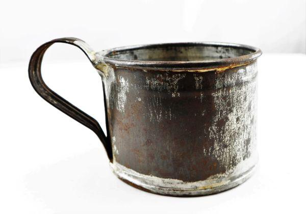 Civil War Tin Cup