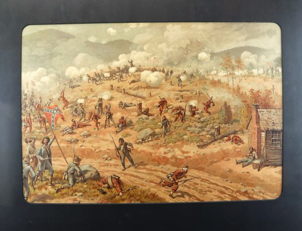 Battle of Allatoona by Bror Thure de Thulstrup