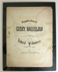 Glory, Hallelujah Sheet Music