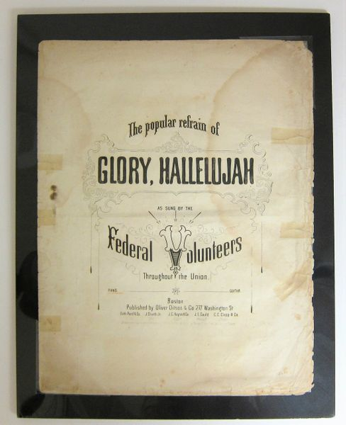 Glory, Hallelujah Sheet Music