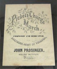 Pickets Charge March Sheet Music