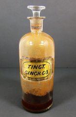 1862 W.N. Walton Patent Medical Bottle