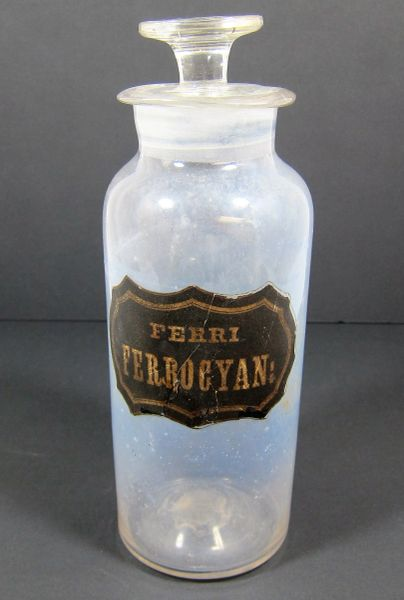 Apothecary Bottle SOLD