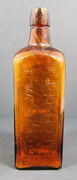 Dr. J Hostetter's Stomach Bitters Bottle