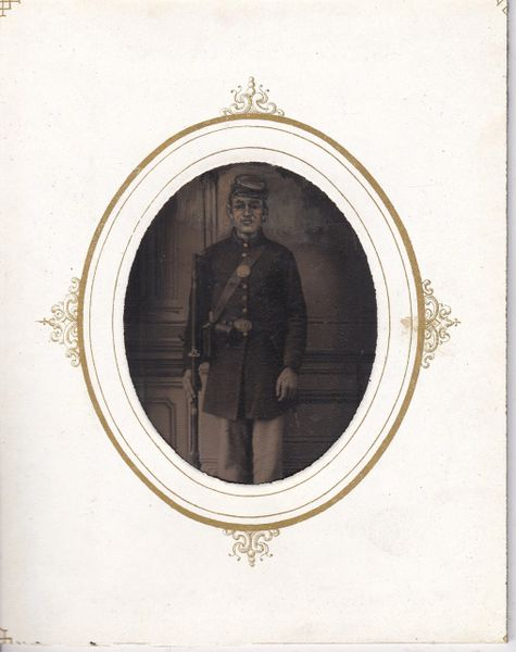 Union Private Tintype Eighth Plate