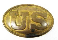 U.S. Belt Plate