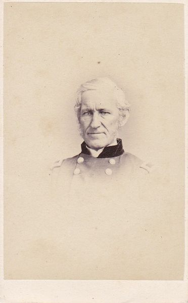 Original CDV Photograph Signed by General Lorenzo Thomas