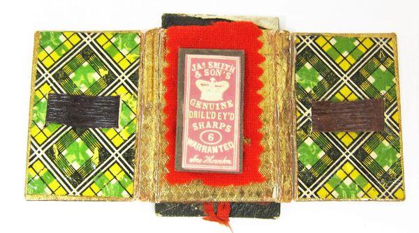 Civil War Housewife Sewing Kit