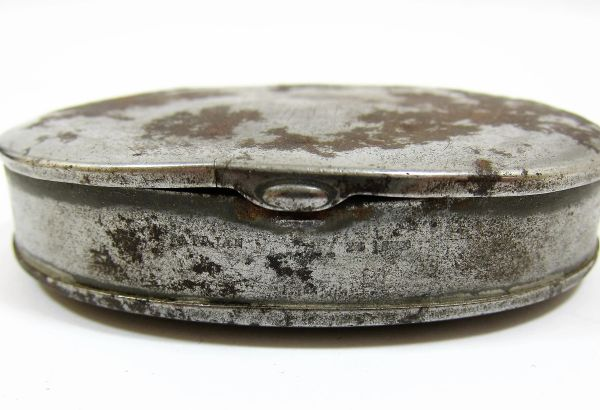 Civil War Era Snuff Tin Patent Date 1860