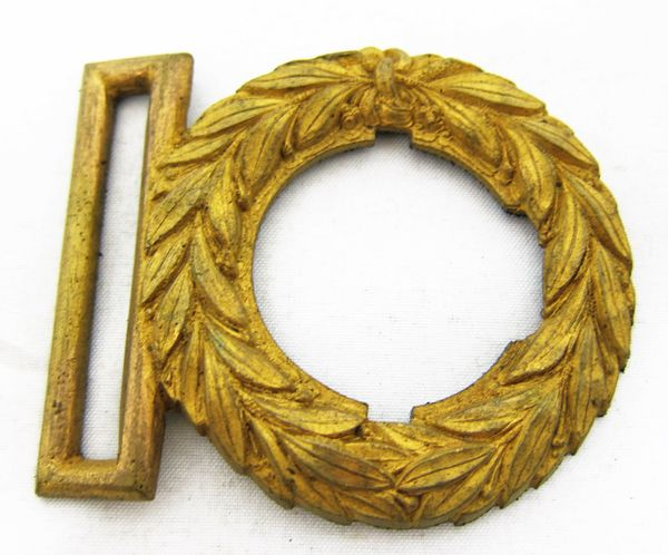Civil War Naval Officer's Belt Wreath