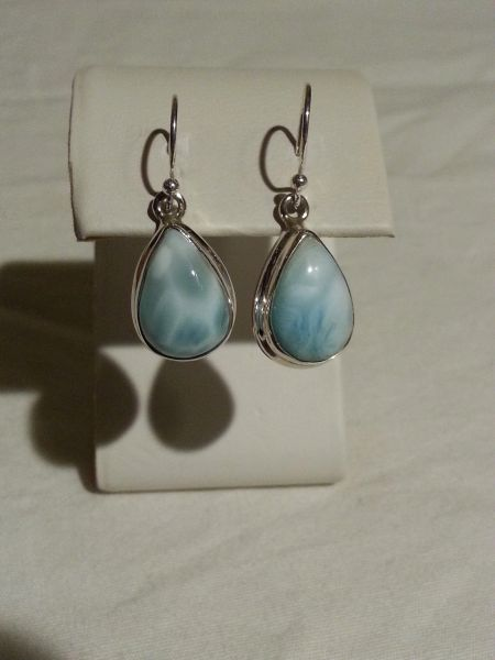 Larimar Drop Earrings