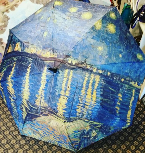Van Gogh Umbrella