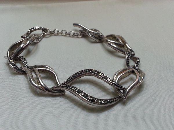 Marcasite Sterling Silver Bracelet