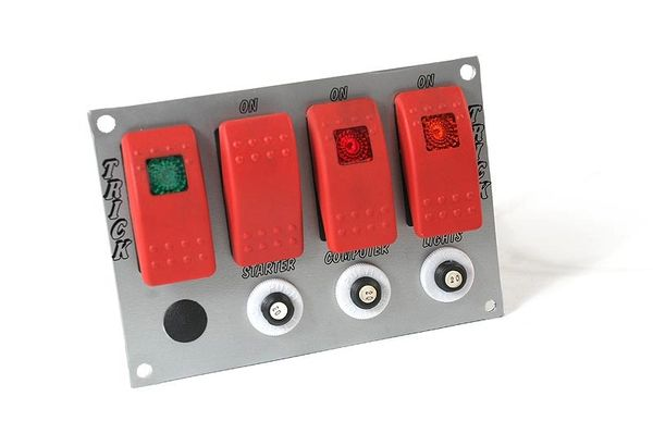 In-Dash Switch Panel - LED Backlit - High Amp