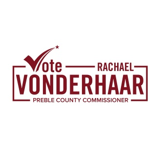 Vote Rachael Vonderhaar for Preble County Commissioner