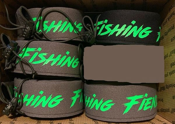 Fishing Fiends logo Spinning Rod Sleeve - Neoprene