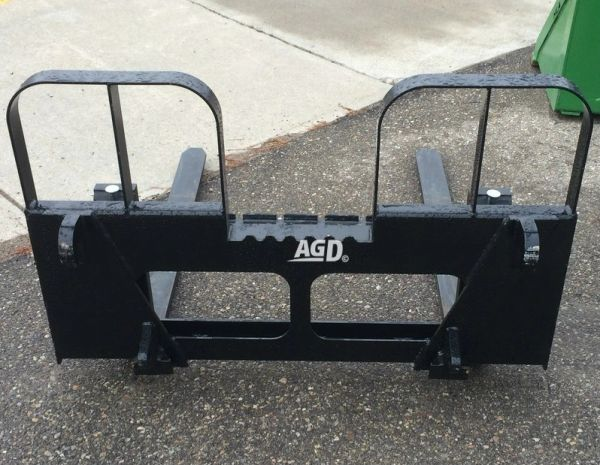 Alo / Euro style quick attach pallet forks, 4200 lb capacity, 48