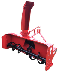 """Snow Blower, 60"""" - 84"""" for compact and utility tractors, 3 point hitch, with SHIPPING INCLUDED to freight terminal"""