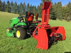 """Snow Blower, 50"""" - 54"""" for sub compact tractors, 3 point hitch, with SHIPPING INCLUDED to freight terminal"""