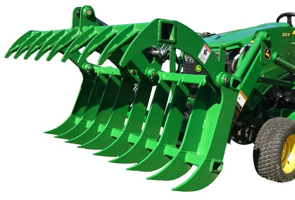 """54"""" - 66"""" HLA root rake grapple with SHIPPING INCLUDED to freight terminal"""