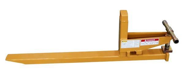 single Clamp to bucket pallet fork