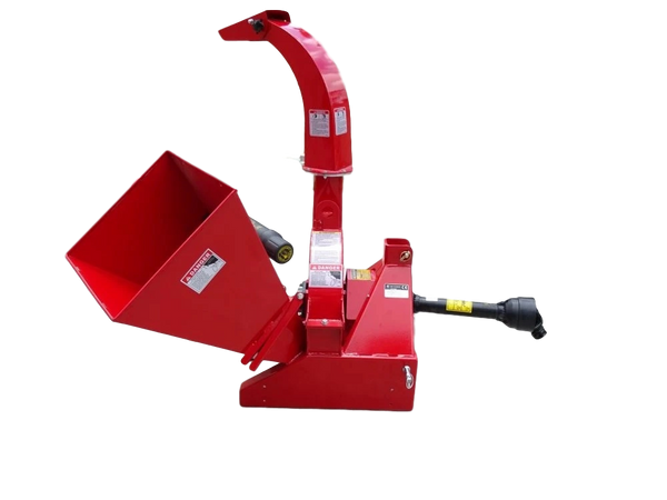 "5"" PTO Wood Chipper with SHIPPING INCLUDED to freight terminal"