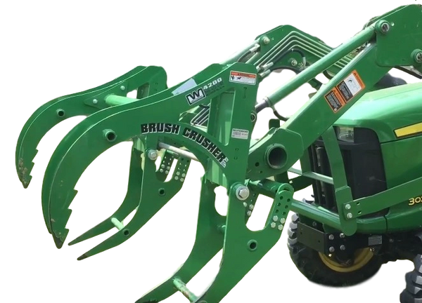 """53"""" Westendorf Brush Crusher grapple for John Deere with SHIPPING INCLUDED to freight terminal"""