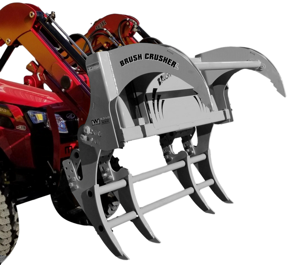 """51"""" Westendorf Brush Crusher grapple for universal skid steer quick connect with SHIPPING INCLUDED to freight terminal"""