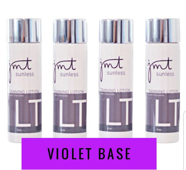 Light Chocolate Tanning Lotion - Violet Line (Case of 4)