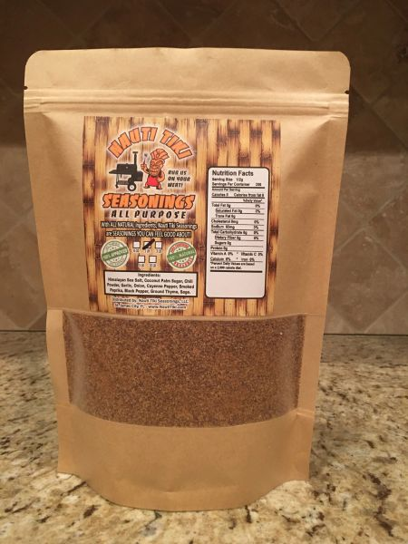 Nauti Tiki Seasonings ALL PURPOSE 1lb Bag