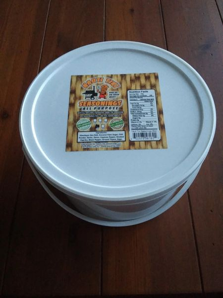 Nauti Tiki Seasonings ALL PURPOSE 5lb. Bucket