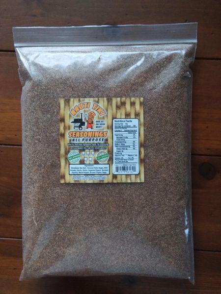 Nauti Tiki Seasonings ALL PURPOSE 3lb. Bag