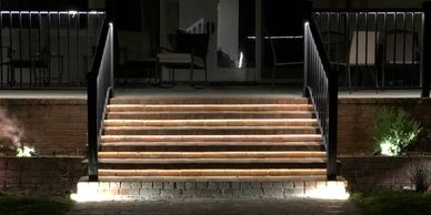 Strip Lights, Stair Lights, Project Photo, Landscape Lighting, Outdoor Lights