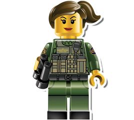 us border patrol lego female agent decal