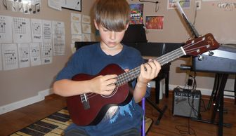 Ukulele Lessons, Ages 7 and up