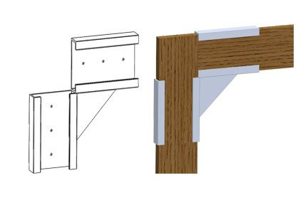 90 Degree Corner Bracket