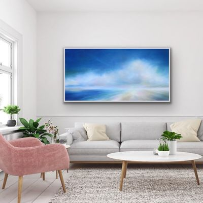 Large Canvas Art Prints of Coastal Landscape Paintings by North Carolina Artist Nancy Hughes Miller