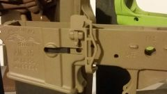 Phase 5 EBR V3 Extended Bolt Catch CERAKOTED FDE, OD, Stealth Grey, etc