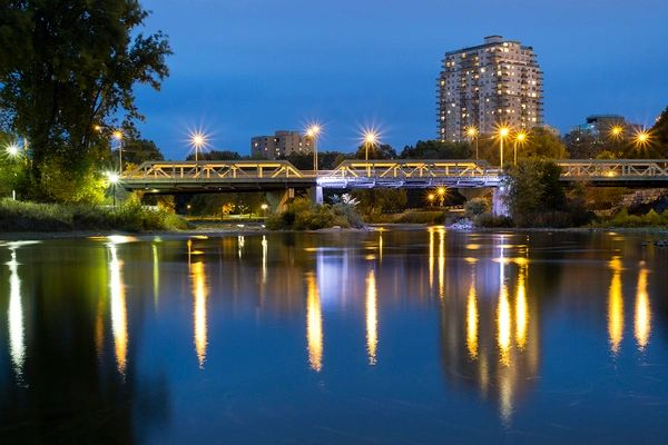 The Forks of The Thames Downtown London Ontario