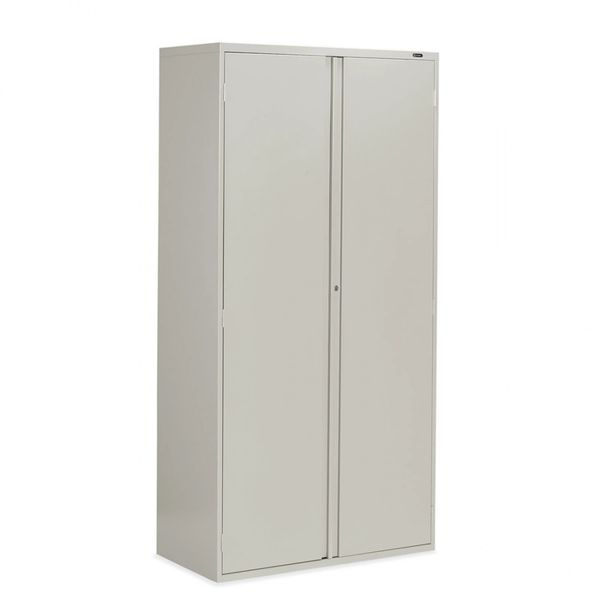 Global 9336P-S72L Tall Storage Cabinet with looped full pull W36 x D18 x H72 IN