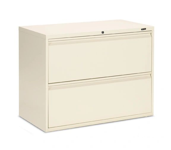 "Global 1900P Series 2 Drawer Lateral File 36"" Wide"