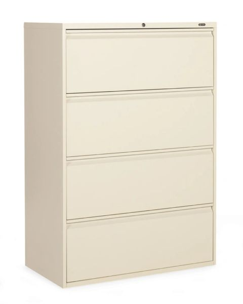"Global 1900P Series 4 Drawer Lateral File 36"" Wide"