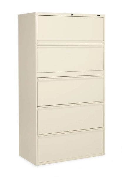 "Global 1900P Series 5 Drawer Lateral File 36"" Wide"