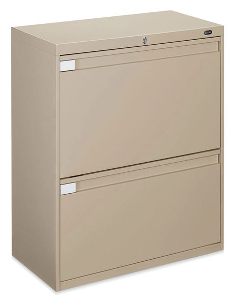"Global 9336P Series 2 Drawer Lateral File 36"" Wide"
